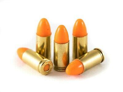 9mm Luger Rubber Practice Ammo