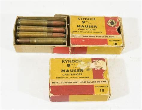 9mm Mauser Rifle Ammo