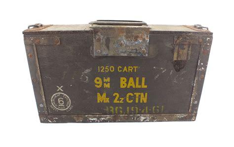 9mm Military Ammo Box