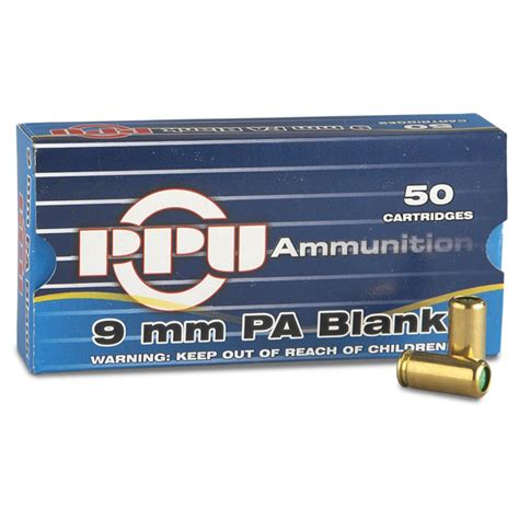 9mm Pa Ammo And 9mm Test Ammo
