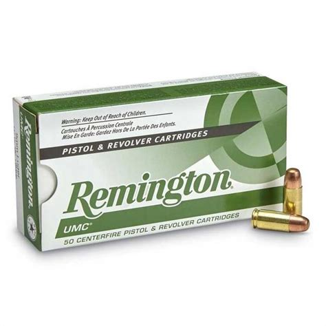 9mm Remington Umc 115gr Fmj