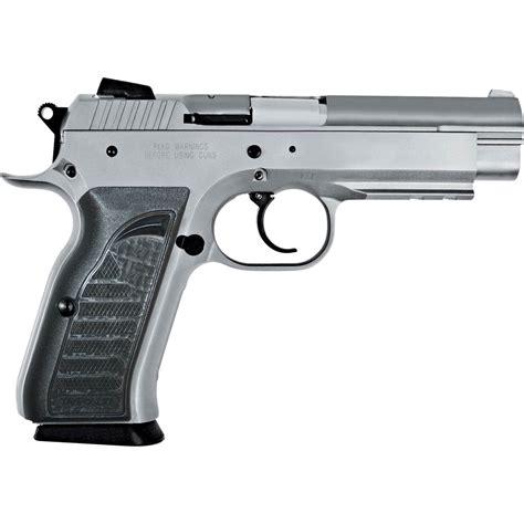 9mm Silver Handgun