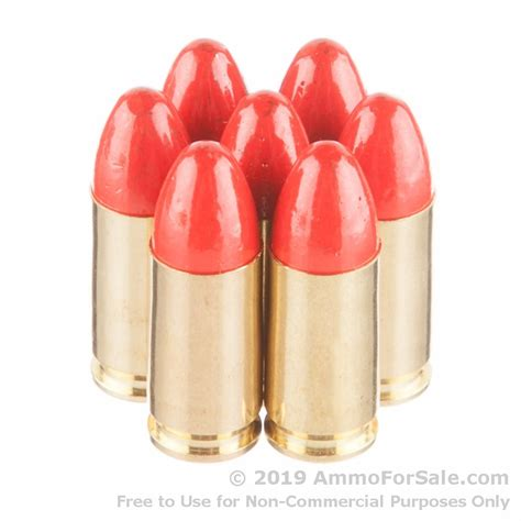 9mm Synthetic Ammo
