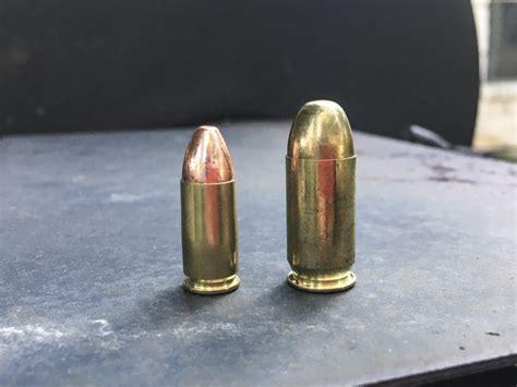 9mm Vs 45 Ball Ammo