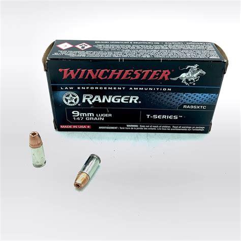 9mm Winchester Ranger 147 Grain Fmj Ammo