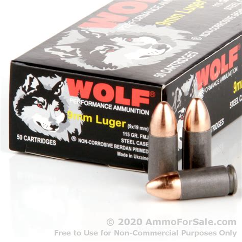 9mm Wolf Ammo Review