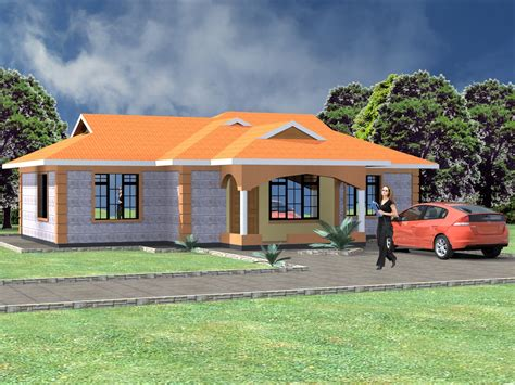A 3 Bedroom House Plan In Kenya