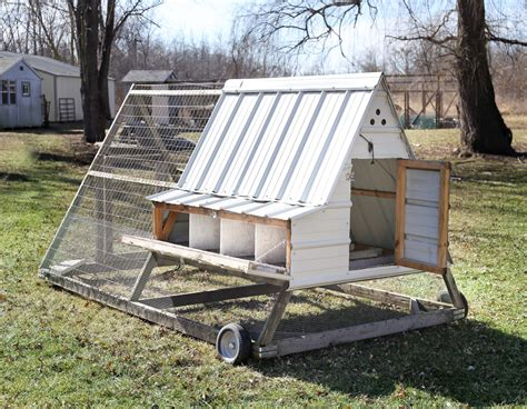 A Frame Chicken Tractor Plans