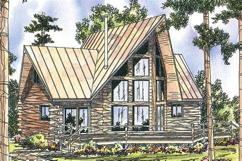 A Frame Cottage Floor Plans