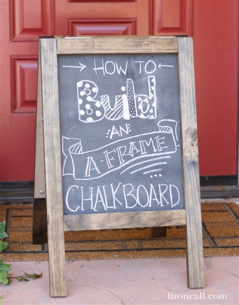 A Frame Sandwich Board Diy