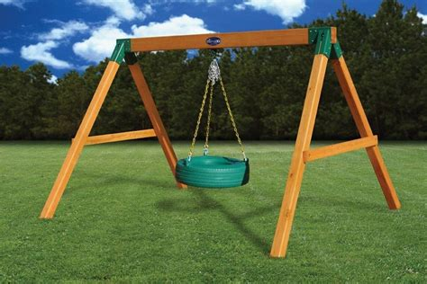 A Frame Tire Swing Plans