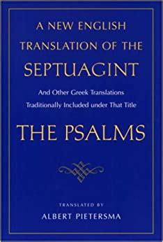 [pdf] A New English Translation Of The Septuagint 24 Psalms.