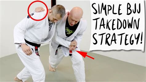 [click]a Simple Takedown Plan For Bjj Competition.