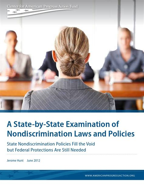 [pdf] A State-By-State Examination Of Nondiscrimination Laws And. -1