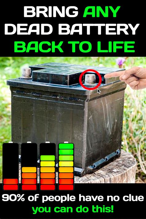 A good how to bring a dead battery back to life review