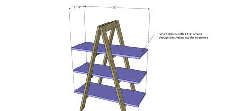 A-Frame-Bookshelf-Plans
