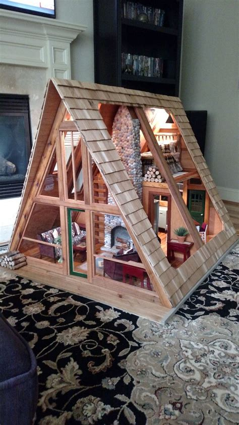 A-Frame-Dollhouse-Plans