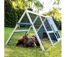 Best A frame chicken coop plans for bantams