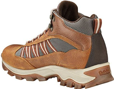 A1L4K Men's Mt. Maddsen Lite Mid Waterproof Hiking Boots, Light Brown Full-Grain - 10 W
