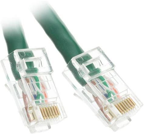 ACL 25 Feet Cat6 RJ45 Bootless Ethernet Patch Cable, Orange, 4 Pack