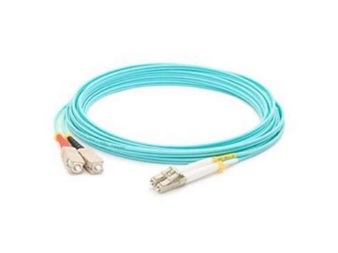 ADDON 3M SC OM3 AQUA DUPLEX PATCH CABLE
