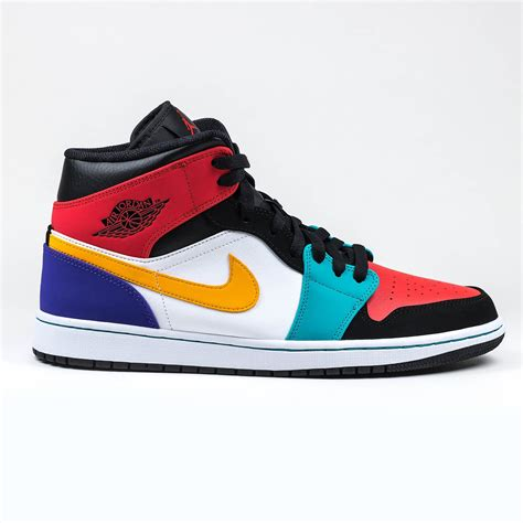 AIR JORDAN 1 MID MENS Sneakers 554724-423
