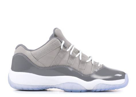 AIR Jordan 11 Retro Low BG (GS) 'Cool Grey' - 528896-003