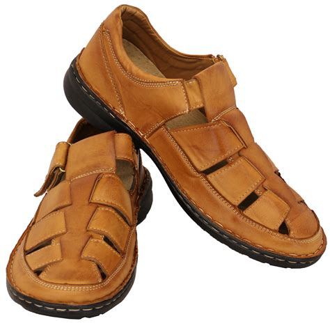 AK9 Men's Summer Leather Universal Sandals Beach Casual Comfort Shoes