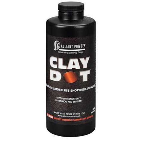Alliant Powderclay Dot Reloading Powder  Shyda S Outdoor .
