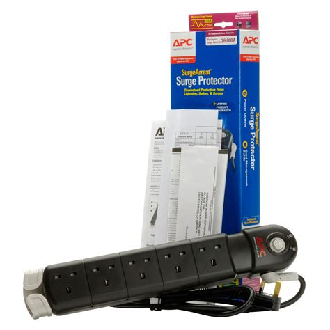 APC ESSENTIAL SURGEARREST 5 OUTLETS 230V UK Electronics Computer Networking