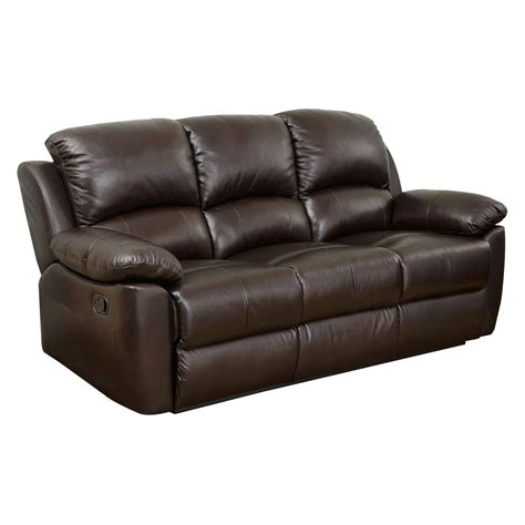 Abbyson Western Top Grain Leather Sofa Loveseat And Recliner