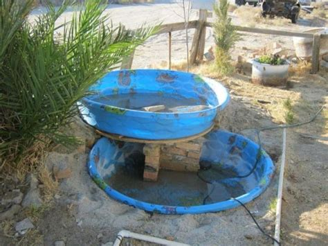 Above Ground Garden Diy Waterfall