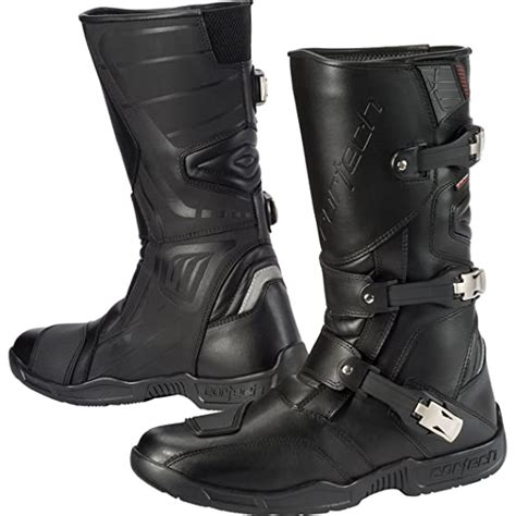 Accelerator XC Men's Riding On-Road Motorcycle Boots - Black / Size 12.5