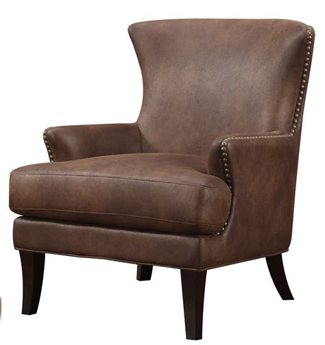 Accent Chairs Brown And Blue