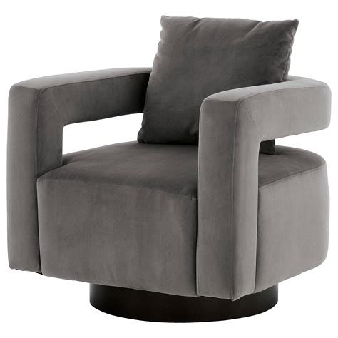 Accent Swivel Chair Cloth