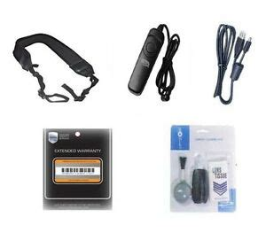 Accessory Kit, Remote + Warranty + Strap + USB Cable for Canon SLR 60D 70D