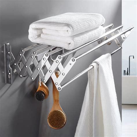 Accordion-Drying-Rack-Wall-Mount-Plans