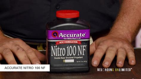 Accurate Nitro 100 Nf At Reloading Unlimited.