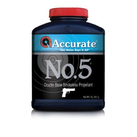 Accurate No 5 Powders Accurate Powder - Gunshow Owywa Com.