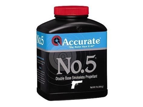 Accurate No 5 Smokeless Powder.