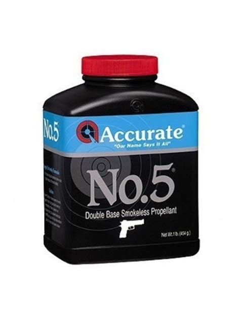 Accurate No 5 At Reloading Unlimited.