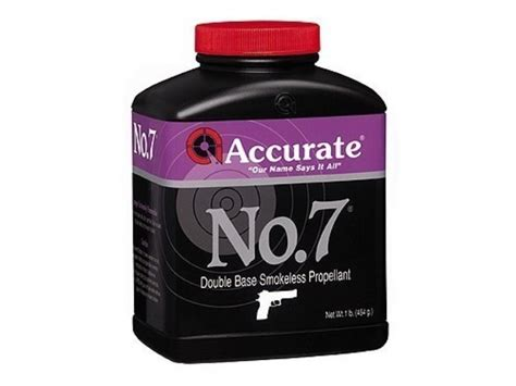 Accurate No 7 Smokeless Gun Powder 1 Lb - Midwayusa Com.