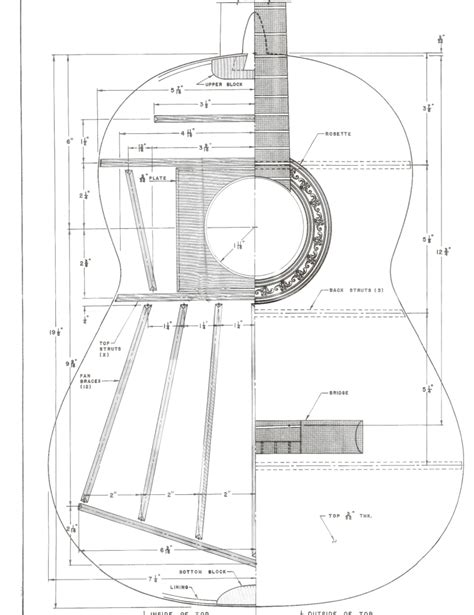 Acoustic Bass Guitar Building Plans