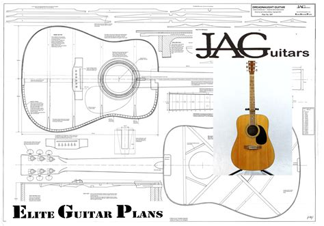 Acoustic Bass Guitar Construction Plans