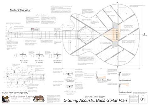 Acoustic-Bass-Guitar-Plans