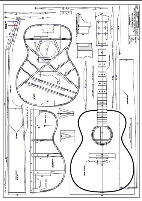 Acoustic-Guitar-Building-Plans