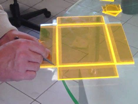 Acrylic Sheet Box Diy Design