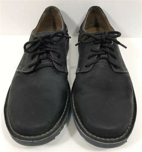 Active Ortholite Black Mens Lace up Sneaker