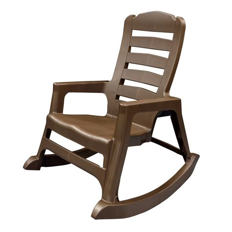 Adams Manufacturing Resin Patio Big Easy Rocking Chair