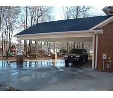 Best Add on carport design